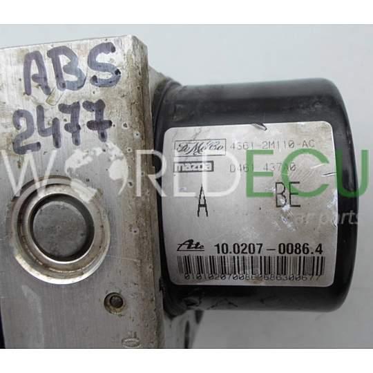 Abs Pump Ford Fiesta Fusion Fomoco 4s61 2m110 Ac