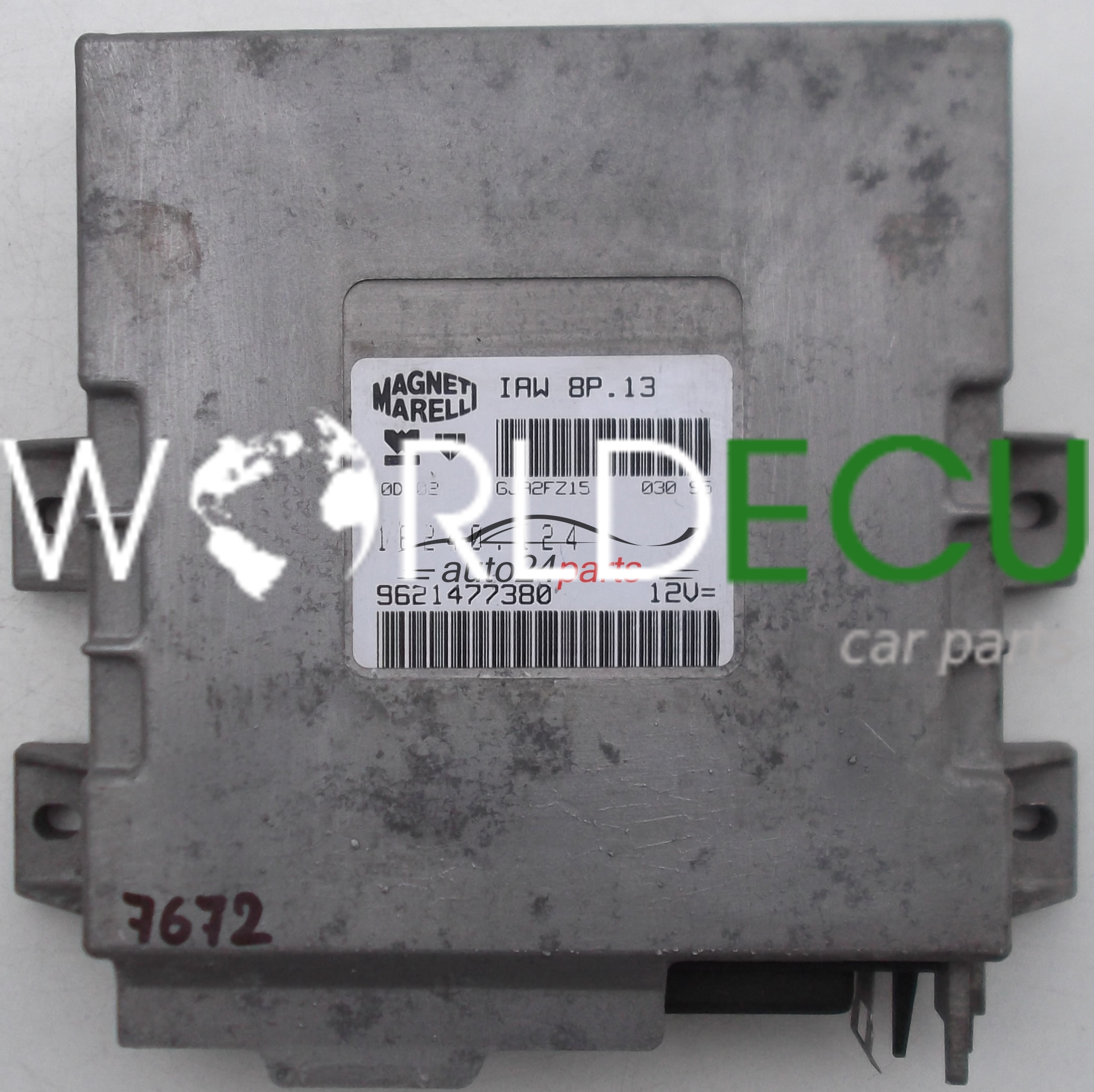 Peugeot 405 Fuse Box Pdf Wiring Diagram Will Be A Thing In 306 Ecu Engine Controller Citroen Zx 1 6 Iaw 8p 13 Rh Worldecu Com 408 206