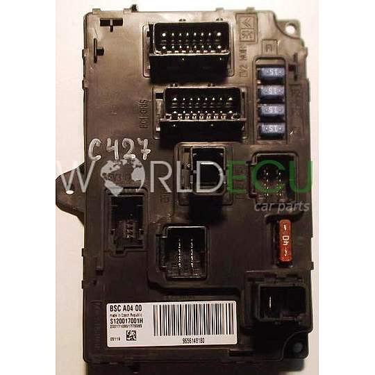 COMFORT CONTROL MODULE PEUGEOT 407 SIEMENS S120017001 H, S120017001H