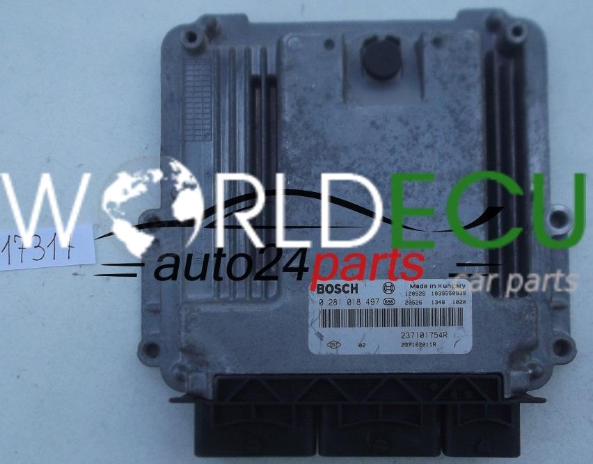 Ecu Engine Controller Renault Trafic 2 0 Hdi Bosch 0 281