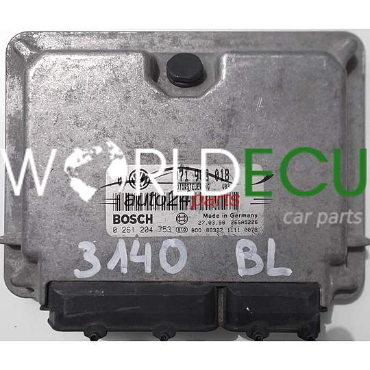ECU ENGINE CONTROLLER VW VOLKSWAGEN GOLF 2.3 071906018, BOSCH ...