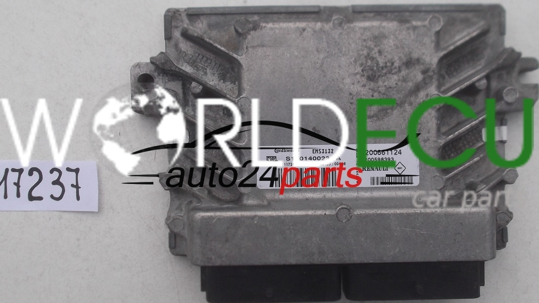 Ecu Engine Controller Dacia Logan Sandero 1 6 Continental S110140023 A  S110140023a  8200661124
