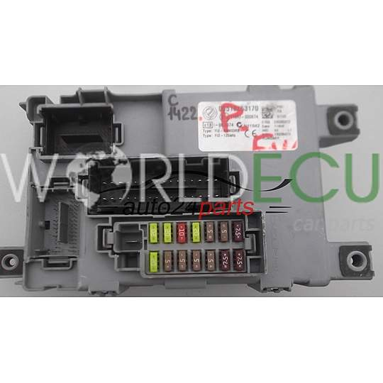 Comfort control module fiat grande punto delphi