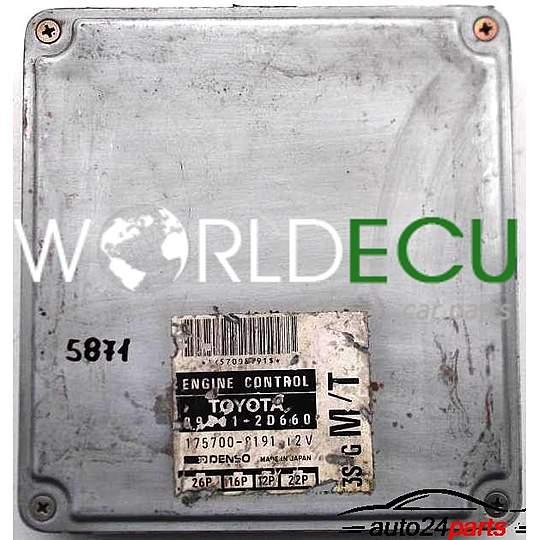 Ecu Engine Controller Toyota Celica 1 8 89661
