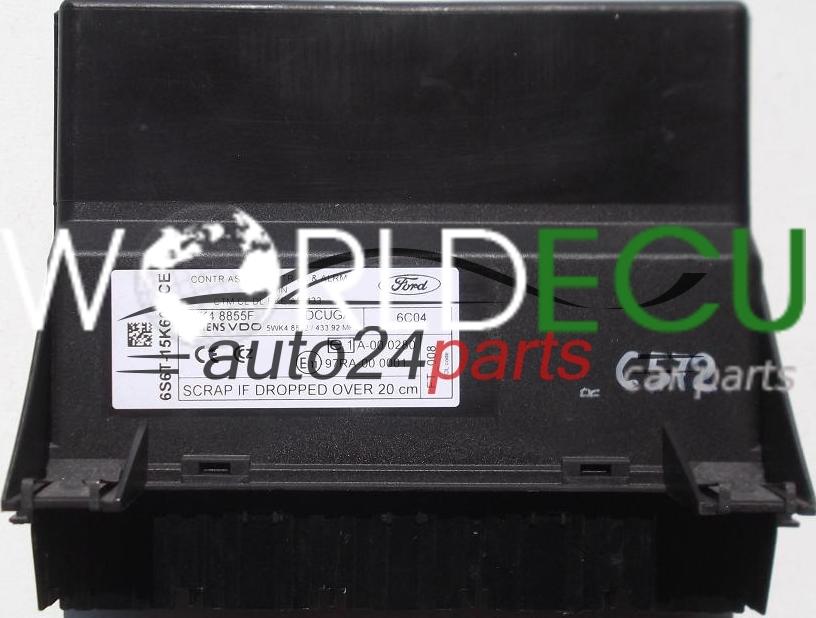 2008 porsche boxster s fuse box diagram comfort control module ford fiesta zetec, 5wk4 8855f ... ford fiesta zetec s fuse box #14