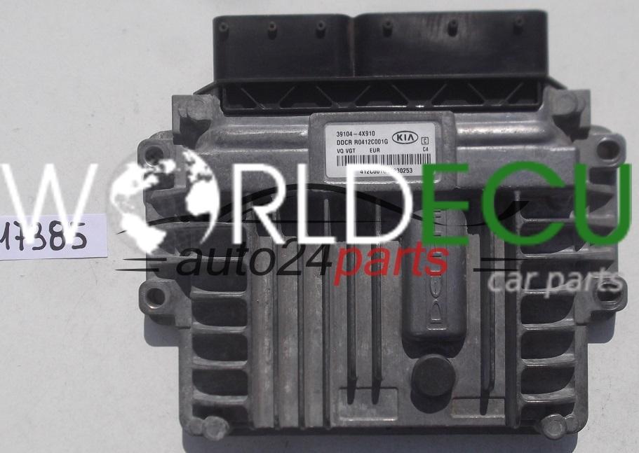 Ecu Engine Controller Kia Carnival Iii 2 9 Crdi Delphi R0412c001g  39104-4x910  391044x910