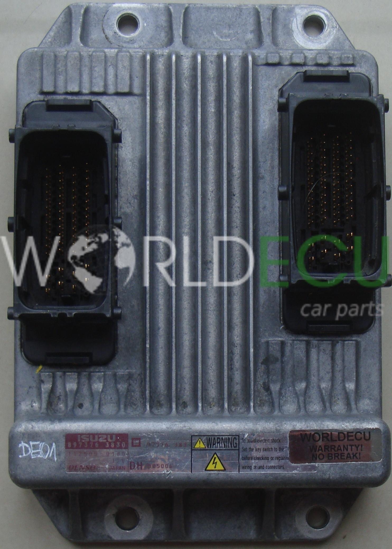 ECU Engine control unit OPEL CORSA COMBO MERIVA 1 7 CDTI