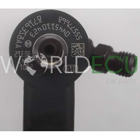 FUEL INJECTOR DIESEL COMMON RAIL OPEL ASTRA INSIGNIA 2.0 CDTI BOSCH 0445110423, 55577668 - USED