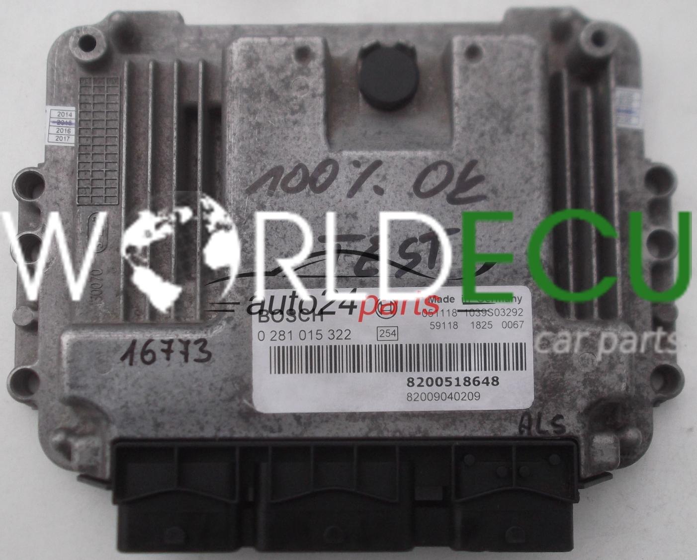 Ecu Engine Controller Suzuki Grand Vitara 1 9 Ddis Bosch 0