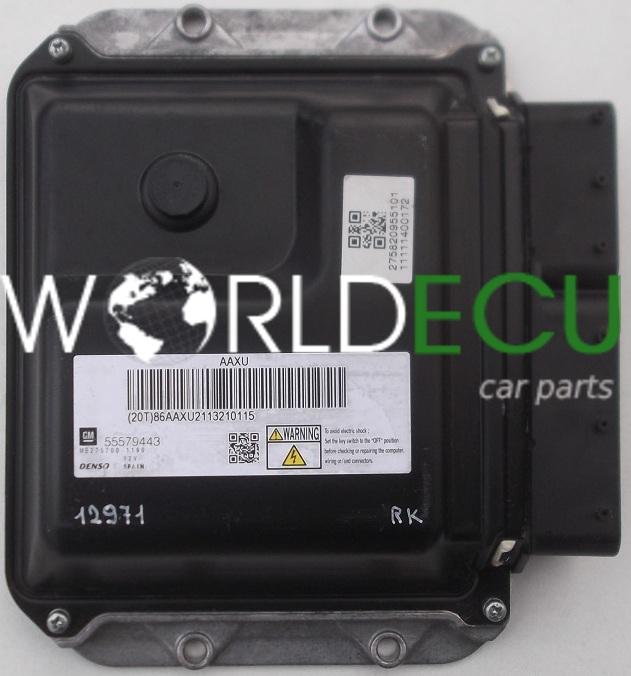 ecu engine controller opel astra 1 7 gm 55579443  denso