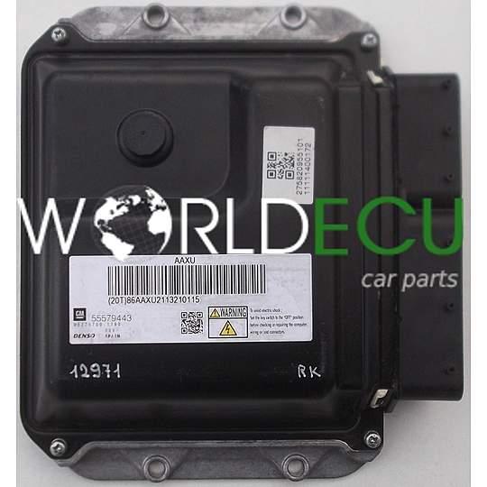 ECU ENGINE CONTROLLER OPEL ASTRA 1 7 GM 55579443, DENSO MB275700