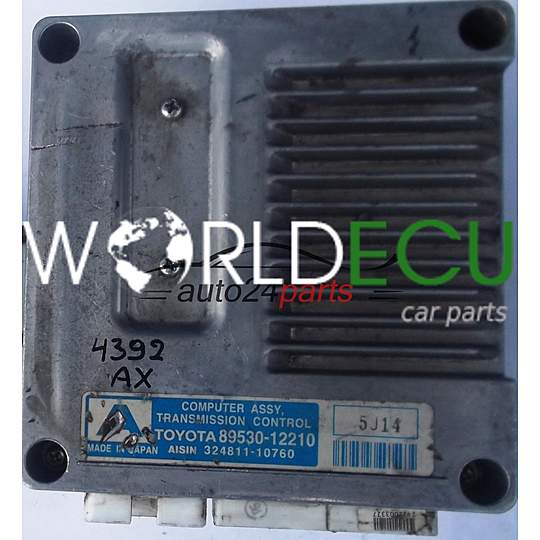ECU AUTOMATIC GEARBOX TOYOTA COROLLA 1 4 D-4D 8953012210, 89530-12210,  32481110760, 324811-10760