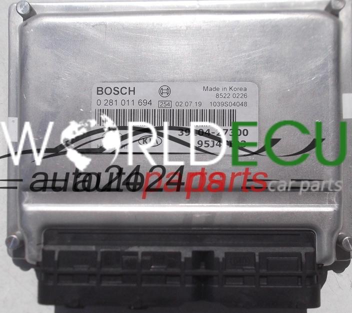 calculateur moteur hyundai tucson 2 0 crdi bosch 0 281 011 694 0281011694 39104 27300. Black Bedroom Furniture Sets. Home Design Ideas