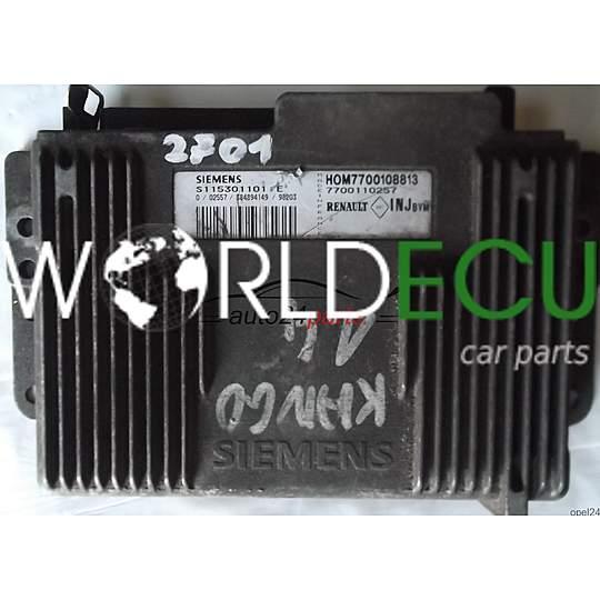 ECU ENGINE CONTROLLER RENAULT KANGOO 1 4 SIEMENS S115301101E