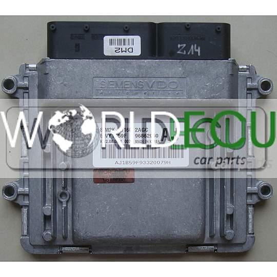 ecu engine controller siemens sim2k d160 2agc   5wy1b59f
