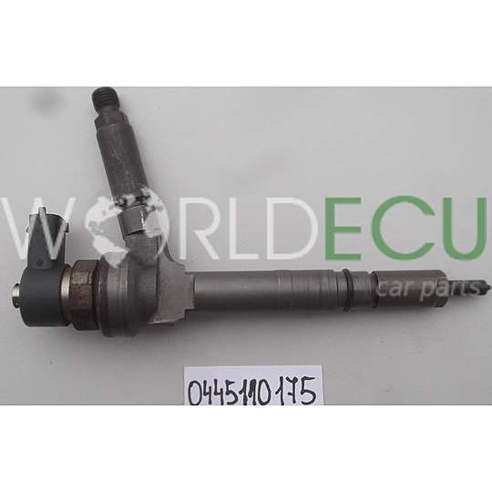 FUEL INJECTOR DIESEL COMMON RAIL OPEL ASTRA 1.7 CDTI Z17DTH BOSCH 0445110175 - USED