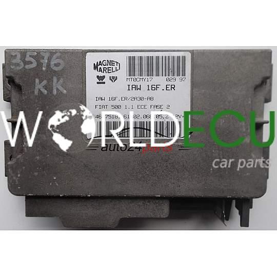 Блок управления двигателем peugeot 307 magneti marelli iaw 6lp112