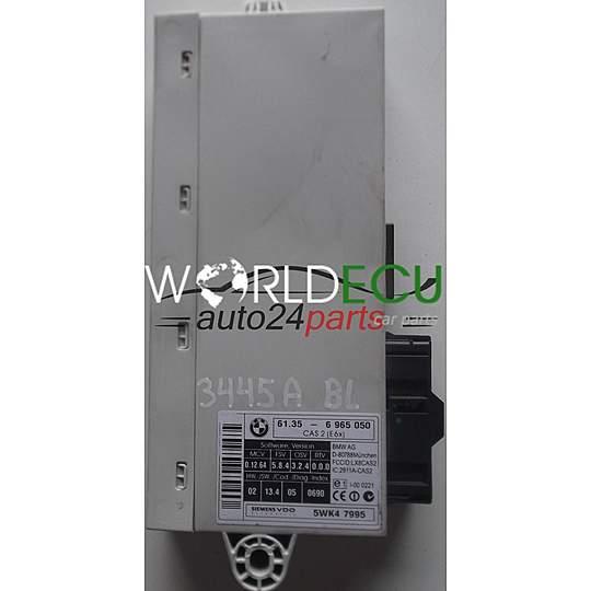 CAS CONTROL MODULE 2 E6X BMW E60/E61 61356965050, 61 35-6 965 050, 61 35 -  6 965 050, 6965959 SIEMENS VDO 5WK47995, 5WK4 7995