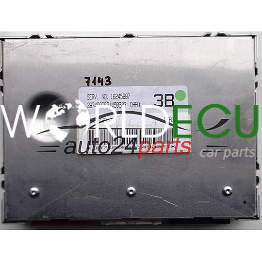 Ecu Engine Controller Daewoo Leganza 2 0 16245887