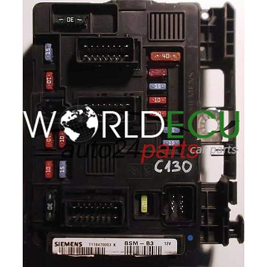 540x540 comfort control module citroen c2 siemens t118470003k, t118470003 citroen c2 fuse box removal at fashall.co